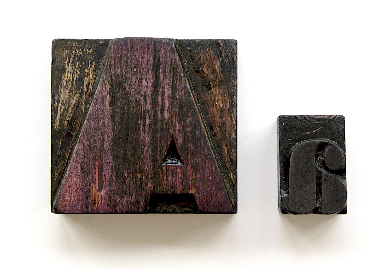 Letras de madera–blog
